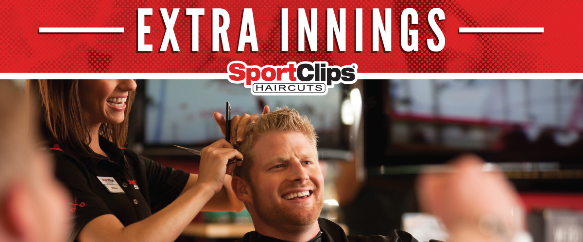 The Sport Clips Haircuts of Matthews Festival Extra Innings Offerings